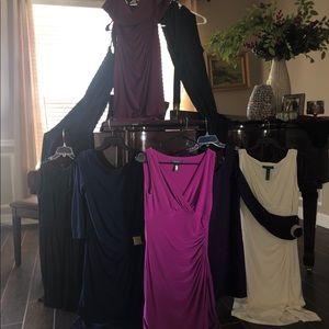 8 designer dresses(sizes 4-6) several Ralph Lauren